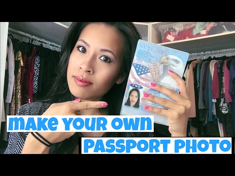 Travel HACK: Make Your Own Passport Photo On Your Phone | DIYwithHan
