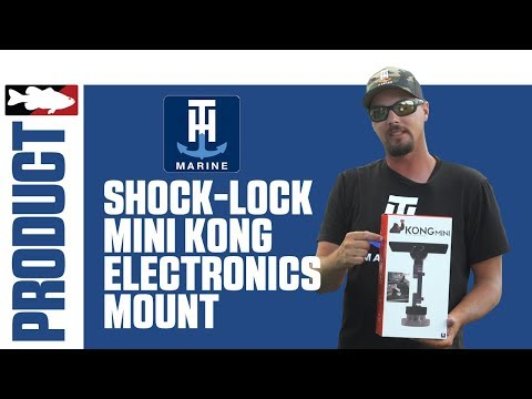 Alex Davis Talks about the T-H Marine Shock-Lock Mini Kong Electronics Mount