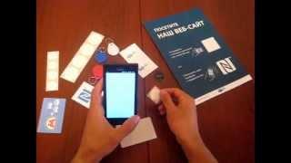 Программирование NFC метки. Запись веб ссылки