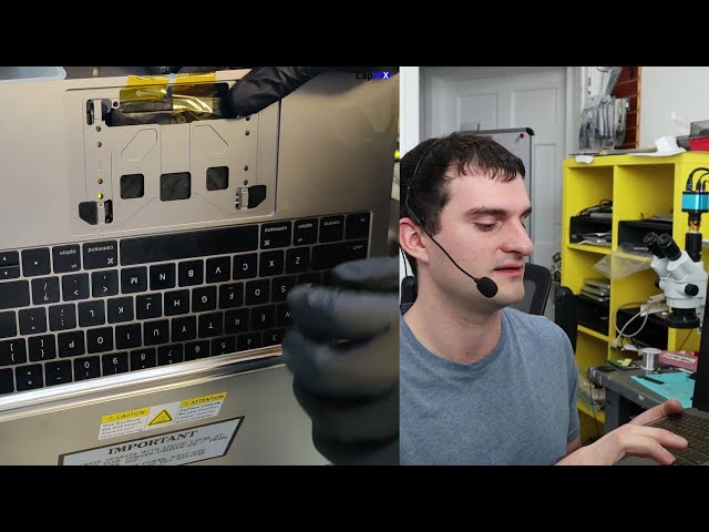 Fixing a MacBook Pro A1708 2017 keyboard with Liquid Spill