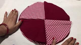 बचे हुए कपड़ो से बनाये table mat