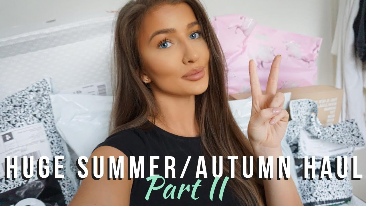 97bba693 HUGE SUMMER/AUTUMN 2018 TRY-ON HAUL - PART 2 - ZARA, ASOS, H&M |  aliceoliviac