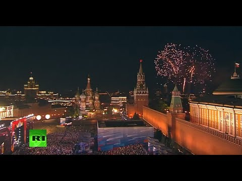 FIFA WorldCup opening gala concert in Moscow thumbnail