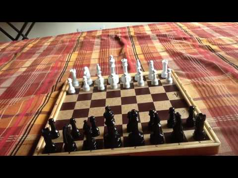 Chess trap: Legal's mate