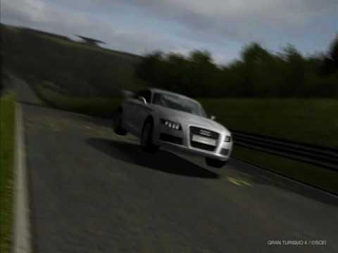 Gran Turismo 4 Audi Nuvolari quattro ps2.wmv