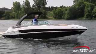 Cruisers Sport Series 298 Bow Rider Test 2015- By BoatTest.com