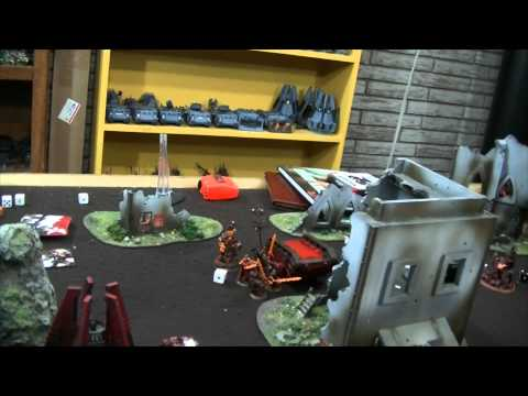 TBMC - HD Video Batrep - 2000 Khorne Daemonkin vs Blood Angels