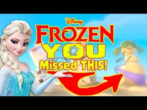Disney's Movie Frozen | Everything You Missed