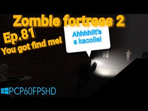 BF1AR Medic zombie V.S.Engineer human:Ep 81:You got find me!