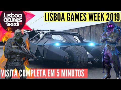 LISBOA GAMES WEEK 2019 Tudo O Que Tens De Saber LGW2019