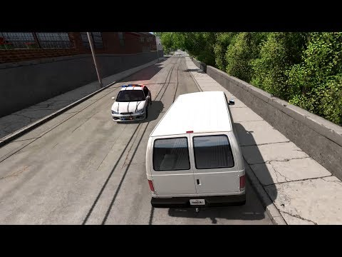 BeamNG.drive - Cops and Robbers - Maple Leaf Credit Union