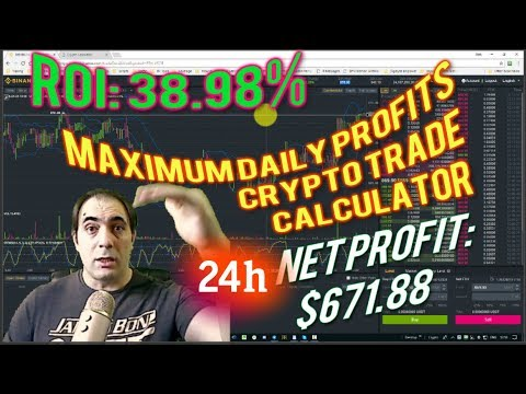 Crypto trade calculator