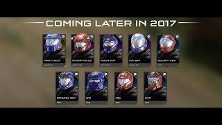 Halo 5 DLC Classic Helmet REQ Pack Trailer