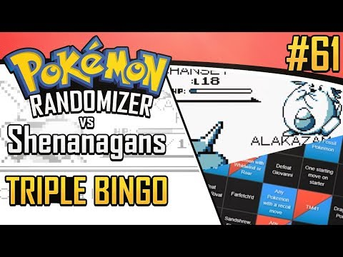 Pokemon Randomizer Triple Bingo vs Shenanagans #61