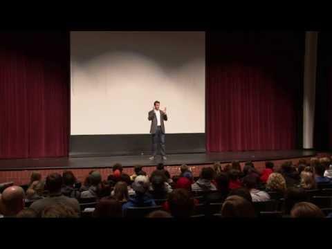 Ben Utecht Speech @ Hastings High School (February 2015)