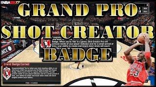shot creator pro grand badge nba 2k17 ps4 players getting exposed