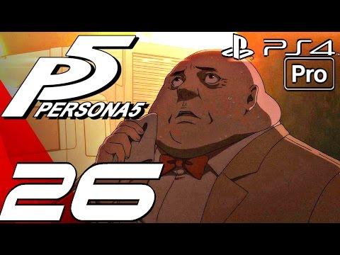 Persona 5 English Walkthrough Part 26 Morgana Escape & Meeting Haru Ps4 Pro
