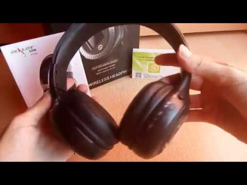 dc2bdc843f7 Unboxing Auriculares Bluetooth Diadema ELEGIANT - YouTube