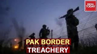 Pak Border Treachery : Army Defuses Pakistan Mortars, Watch Live Visuals Of Army Action