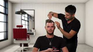 Get this Sexy Look using Sexy Hair Polished Up Pomade