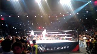 Presentacion John Cena - Arena Monterrey - Dom. 19 Oct. 2014