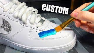 CUSTOM Air Force 1!! 🎨 Combining Crazy Patterns Together! -  Jordan Vincent