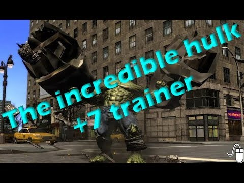The Incredible Hulk +7 Trainer - How To Download And Use