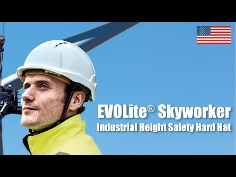 EVOLite® Skyworker™ Industrial Height Safety Hard Hat (Video for US)