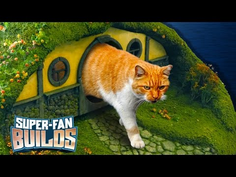 LOTR Litter Box & Cat Scratching Post (Lord of the Rings) - SUPER-FAN BUILDS