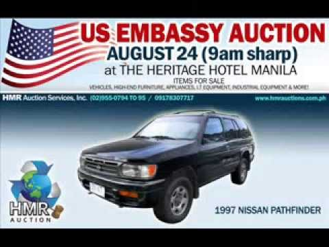US EMBASSY AUCTION on August 24, 2013 at the Heritage Hotel Manila