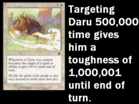How To Gain 1 000 000 Life In Magic The Gathering Youtube