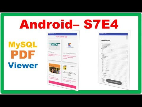 Android MySQL → Android PHP MySQL PDFViewer – GridView