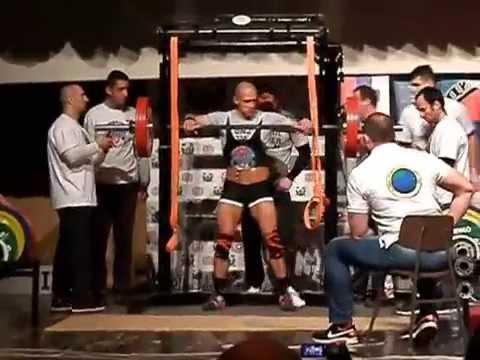 Milan Konzul @ 546kg / -75kg ~  Balkansko prvenstvo u PWL / Konzul Power Training