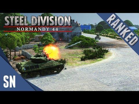 Old Enemies - Steel Division: Normandy 44 - Ranked Gameplay #1