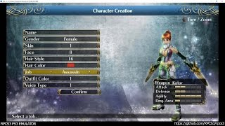 RPCS3 PS3 Emulator - Ragnarok Odyssey Ace Ingame! VULKAN (47fdaf69)
