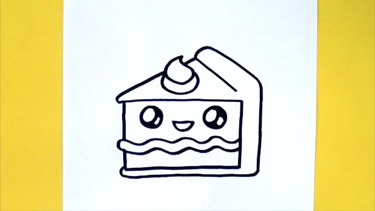 Cake Drawing Of Easy