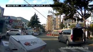 2014年10月の交通事故動画まとめ。ドライブレコーダー