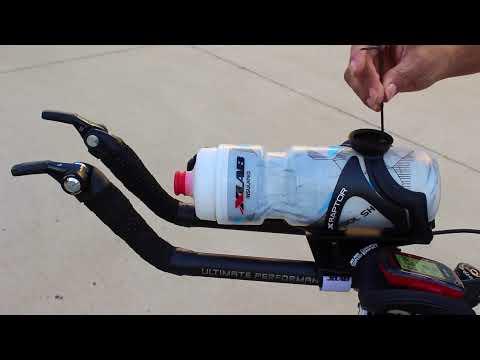 XLab AreoBar Bottle Set Torpedo Versa 500 Black Mount+Cage+Bottle