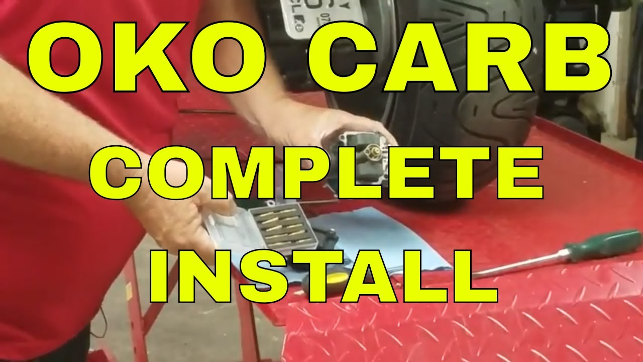 Download MADDOG ICEBEAR CHUCKUS 150 OKO CARB COMPLETE INSTALL HOW TO