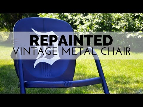 How to Repaint a Vintage Chair