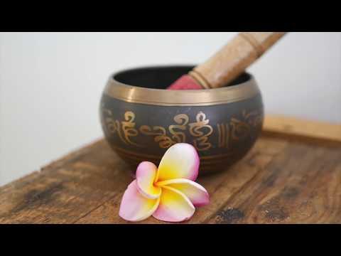 Campana zen y cuencos tibetanos