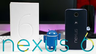 Google Nexus 6 Unboxing & First Impressions!