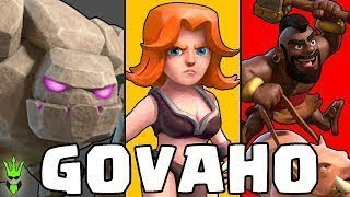 """BEST TH8 """"GoVaHo"""" ATTACK STRATEGY GUIDE!! Clash of Clans BEST Town Hall 8 Attack Strategy 2018"""