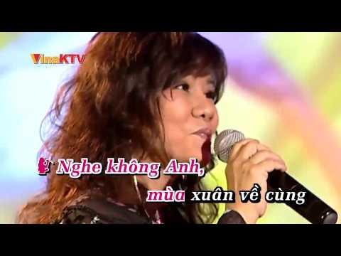 Tình ca mùa xuân - Thanh Hoa ft Đức Long (Karaoke chuẩn)
