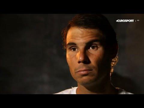 Rafael Nadal Interview for Eurosport(ES) at RG, 10 June 2017