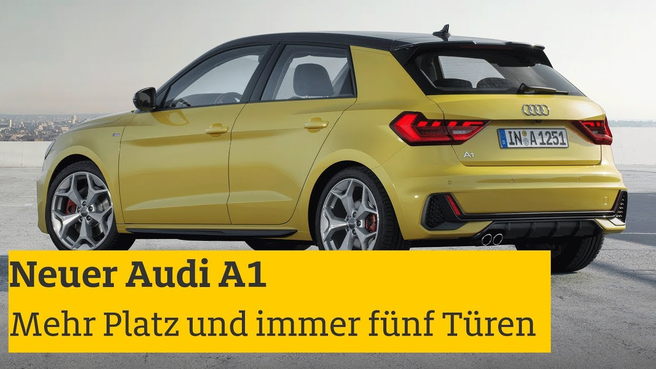 neuer audi a1 vorstellung daten motoren preise i adac. Black Bedroom Furniture Sets. Home Design Ideas
