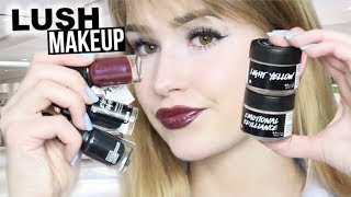 FULL FACE USING LUSH MAKEUP | Hit or Miss?!
