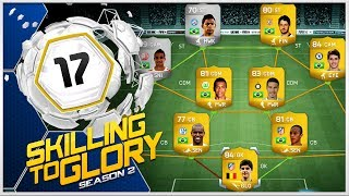 FIFA 14 - Skilling to Glory S2 ''Wallyson Skill Squad'' Episode 17