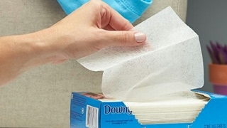 How to Re use dryer sheets don't throw away