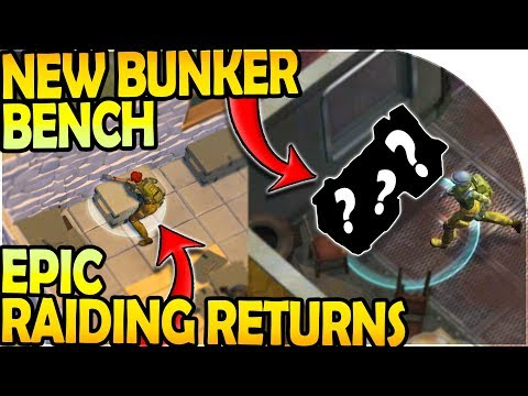 NEW BUNKER SECRET BENCH - EPIC RAID RETURNS! - Last Day On Earth Survival Update 1.9